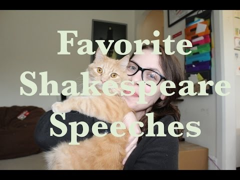 Favorite Shakespeare Speeches
