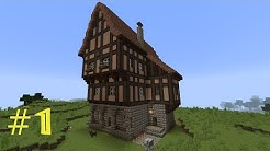 Minecraft Tutorial - Fachwerkhaus (Wohnhaus) #1