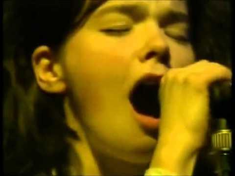 The Sugarcubes •ั live - Planet & Cowboy + interview (Zabor, 1989) (1/6)