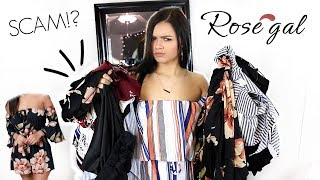 HONEST ROSE GAL TRY-ON HAUL AND REVIEW! Allisa Rose