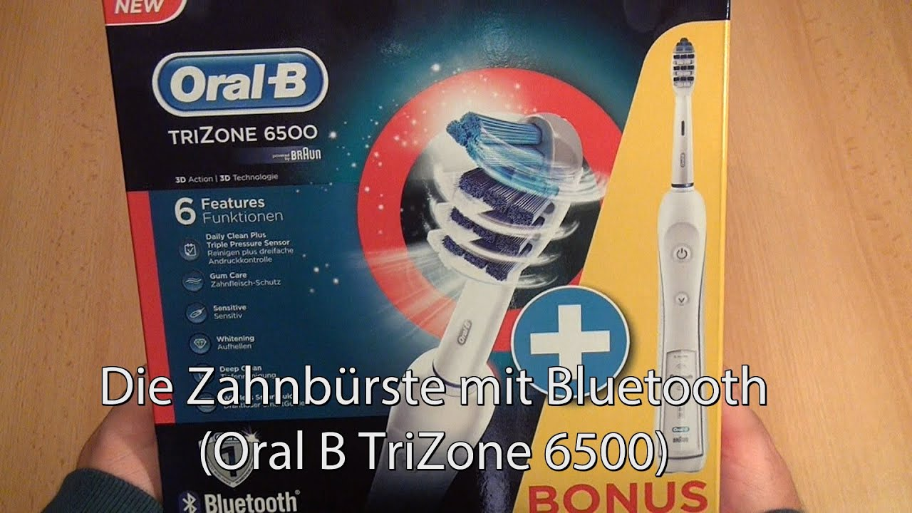 test oral b mit bluetooth elektrische zahnb rste trizone. Black Bedroom Furniture Sets. Home Design Ideas