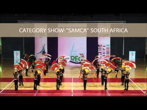 "MAJORETTE-SPORT WORLD FEDERATION-""SAMCA""-South Africa"
