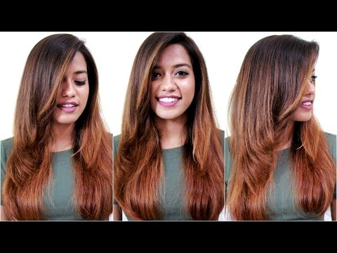How to Blowdry Hair Straight With Volume