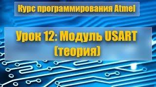 Курс программирования микроконтроллеров Atmel: Урок 12 - Модуль USART (теория)