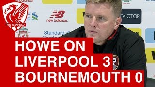 Eddie Howe backs Liverpool to win the Champions League