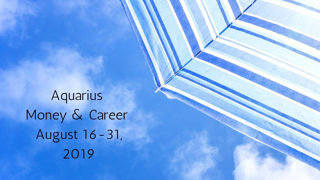 Aquarius August 16-31, 2019 // The Divine Gifts You With Brilliant Changes  // Tarot Reading