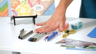 Tools You Need | Scrapbooking