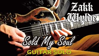 Black Label Society / Zakk Wylde - Sold My Soul :by Gaku