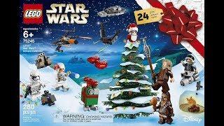 Lego Star Wars Advent Calendar Day One.
