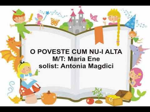 O POVESTE CUM NU-I ALTA – Cantece pentru copii in limba romana