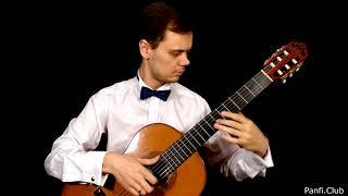 Красивая лёгкая пьеса для классической гитары. Н.Кост - Кадриль Op.3