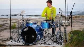 Josh Stecker - M83 Midnight City Drum Cover