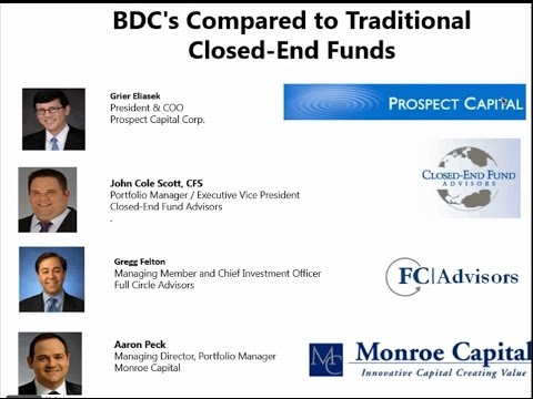 BDC's Compared to Traditional Closed End Funds