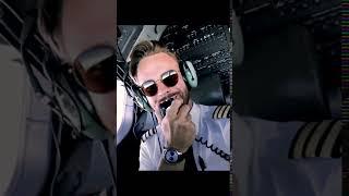 Pilot Makes Turbulence Announcement to Passengers
