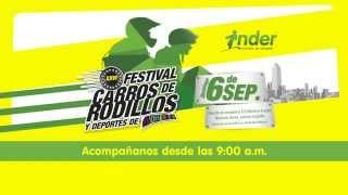 Acompáñanos al Festival de Carros de Rodillos y Deportes de Adrenalina - INDER Medellín 2015