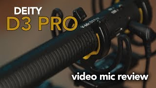 The BEST Video Mic Money Can Buy - Deity V-Mic D3 Pro Review (with Location Kit)