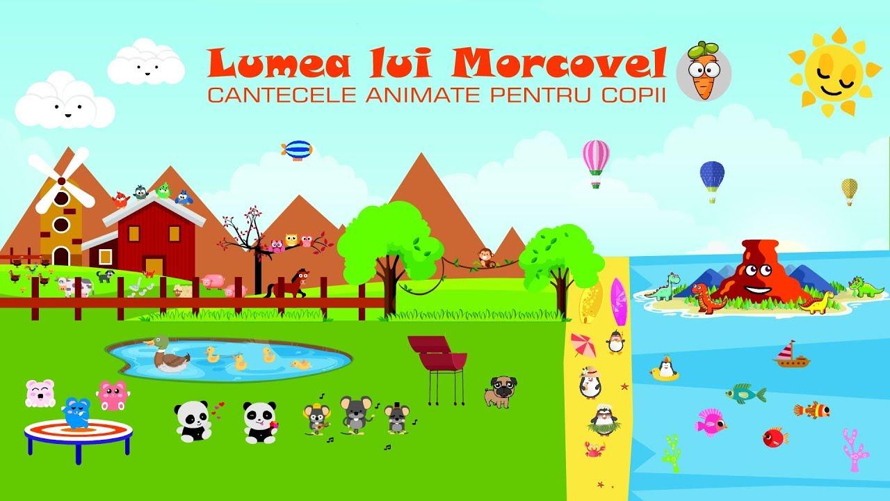 Lumea lui Morcovel | Cantece pentru Copii | Desene Animate
