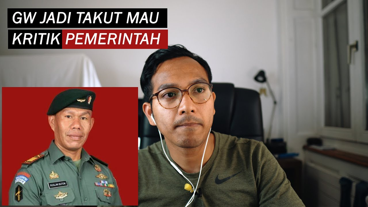 Artis Gw Kagak Takut, Tapi Kasus Ruslan Buton Bikin Gw Mikir2 Kali mau Kritik Pemerintah