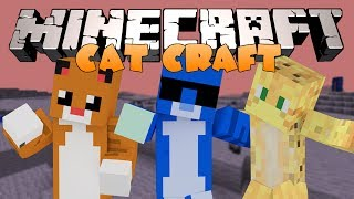 Minecraft: УСАТЫЕ ИЗМЕРЕНИЯ! (Котики, Новые измерения и тд) Обзор модов [CatCraft]