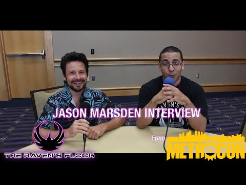 The Raven's Flock  EXCLUSIVE! Jason Marsden  MetroCon 2018