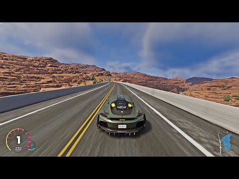 The Crew 2 – Koenigsegg Gemera Chasing A Bugatti Divo At Grand Canyon, Arizona
