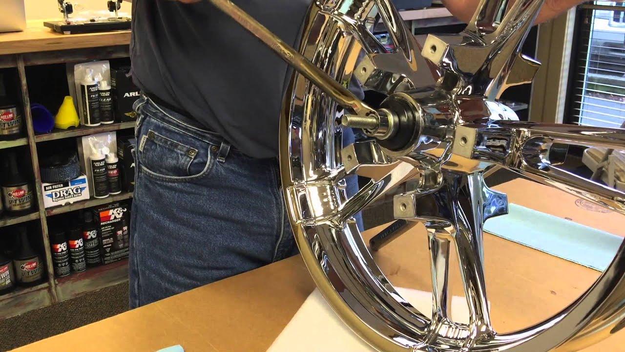 Harley Davidson Wheel Bearing Installation