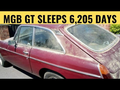 MGB GT 17 Years Dry Stored Is It Worth Saving