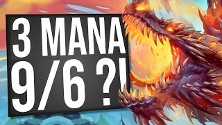 3 Mana 9/6?! THIS is the Strongest Deck! | Galakrond Warrior | Standard | Hearthstone