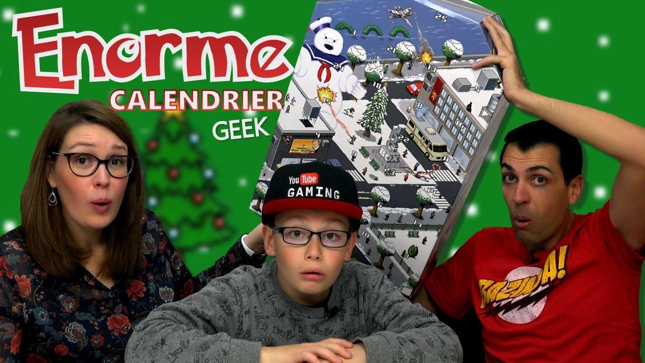 Calendrier Avent Geek.Jdgbox Calendrier De L Avent Geant Family Geek