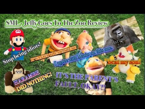 SML - Jeffy Goes to the Zoo Review - YouTube