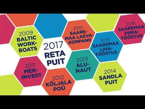Saaremaa Aasta Ettevõtja 2017 on Reta Puit