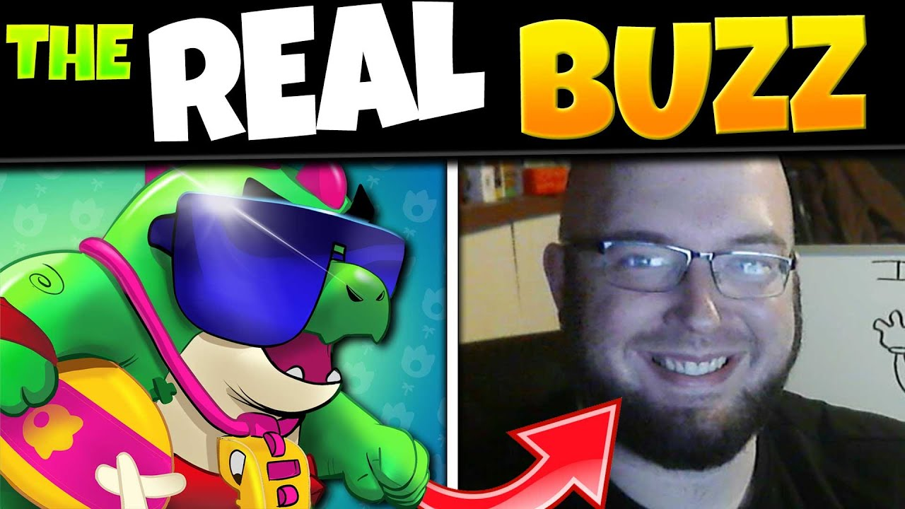 Buzz Voice Actor In Real Life | Meet J. Thomas Gordy Brawl Stars Voice Actor