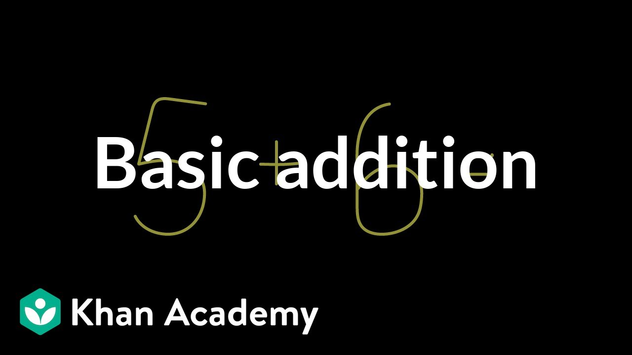 cfca1123557cf Basic Addition | Arithmetic (video) | Khan Academy