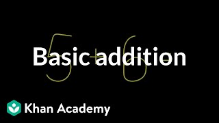 Basic addition | Addition and subtraction | Arithmetic | Khan Academy