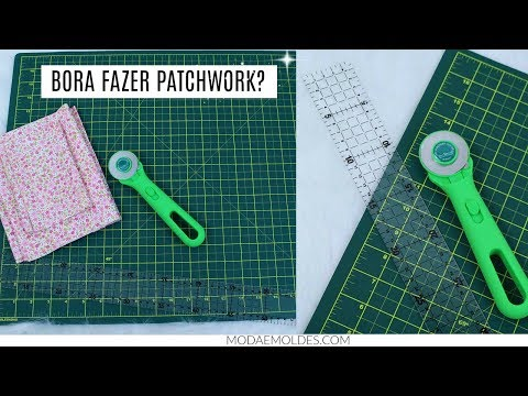 KIT PATCHWORK|REVIEW E COMO USAR| DAYSE COSTA