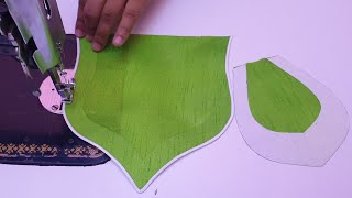 Latest Creative and Simple Shower Kurti/Suit Neck Design Cutting and Stitching