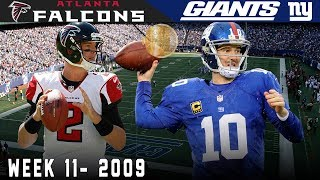 A Marathon in the Meadowlands! (Falcons vs. Giants, 2009) | NFL Vault Highlights