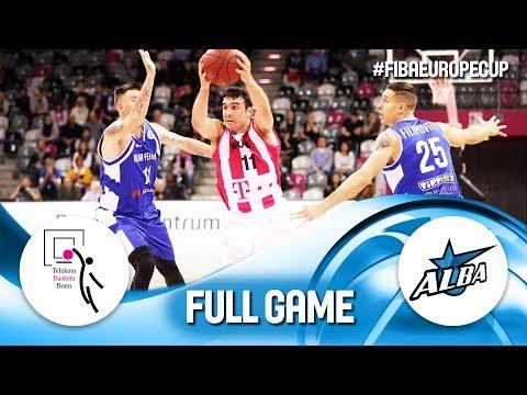 Telekom Baskets Bonn v Alba Fehervar - Full Game - Rd. of 16 - FIBA Europe Cup 2018-19