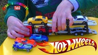 Машинки Хот Вилс Hot Wheels и Автовоз Car Trailer.