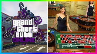 GTA 5 Online Casino DLC Update HUGE INFO Release Date Details Roulette Slots Poker MORE