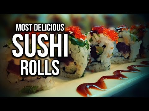 Top 5 Most Delicious Types of Sushi Rolls