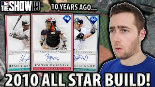 ALL STARS FROM 10 YEARS AGO....MLB THE SHOW 19 DIAMOND DYNASTY