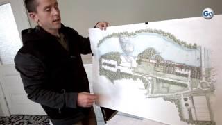 Pacolet Mayor Michael Meissner explains plans for the Pacolet River Passage Gateway Project, Monday.