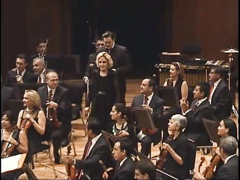 Khachaturian Piano concerto  1st movement -  Dora Serviarian Kuhn, Mexico