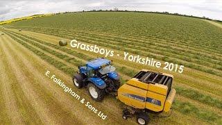 Grassboys -Yorkshire 2015: E. Falkingham & Sons Silage