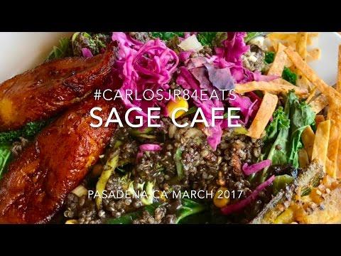 SAGE CAFE IN PASADENA,CA #carlosjr84eats