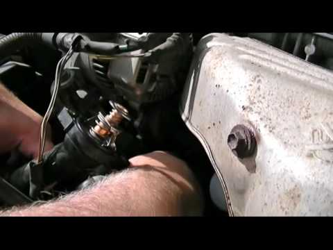 2000 Toyota Camry Bad Thermostat Gasket & Repair