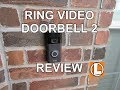 Ring Video Doorbell 2 Review Unboxing Setup Installation Video Footage mp3