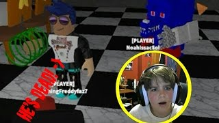 HUNTED BY EVIL FOXYS || Roblox Foxy Disasters Reborn