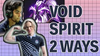 How Sumail and TOPSON play Void Spirit in 7.23 (57% winrate) | Dota 2 GUIDE
